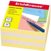 блок бумаги Erich Krause 9*9*5 см  желтый
