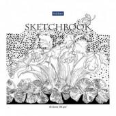 Блокнот 40л. а5 sketchbook графические рисунки хатбер