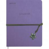 Дневник 1-11кл. devente фиолет. с тесьмой