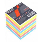Блок бумаги 8х8х8см сменный цветной